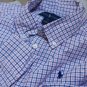 Ralph Lauren Long Sleeve Boys Shirt